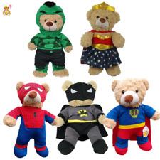 """SUPERHEROS - BATMAN,SUPERBEAR, SPIDER - 16""""/40cm TEDDY CLOTHES & BUILD YOUR BEAR"""