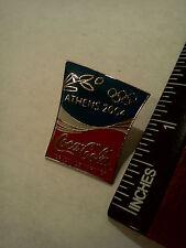 @LOOK@ Coke pin, 2004 Olympics, Coca-Cola, Large Pin, Athens Greece