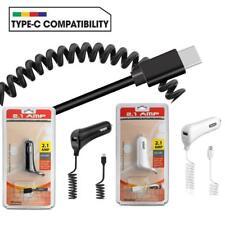 5FT 2.1 AMP USB Port Type C Car Charger for Phone Samsung Galaxy / LG / Motorola