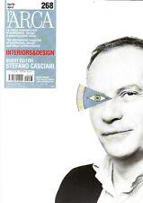 l'ARCA INTERIORS & DESIGN Magazine #268 STEFANO CASCIANI Jean Nouvel @NEW@