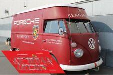 Calcas Volkswagen T1 Porsche Rennsport 1:32 1:43 1:24 1:18 64 87 VW slot decals