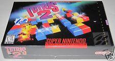 Tetris 2 (Super Nintendo) ..Brand NEW!!