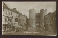 Kent CANTERBURY West Gate 1936 RP PPC
