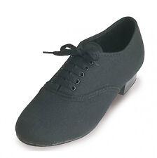 Nuevo De Calidad De Los Chicos De Tela Oxford Zapatos De Tap Con Corte de los grifos Tamaño 7c-6a