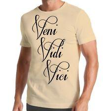 Veni Vidi Vici T-Shirt | Ich Kam Sah Und Siegte | Caesar | Gaius | Julius