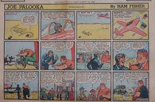 Joe Palooka by Ham Fisher - large half-page color Sunday comic - May 15, 1949