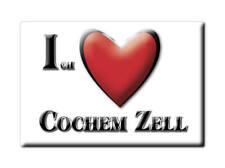 DEUTSCHLAND SOUVENIR KÜHLSCHRANKMAGNET FRIDGE ICH LIEBE I LOVE COCHEM ZELL