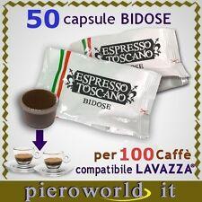 50 capsule BIDOSE x 100 caffè compat. ECL LAVAZZA® ESPRESSO POINT TOP SELECTION