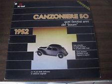 CANZONIERE 1952 NILLA PIZZI Quartetto Cetra ROBERTO MUROLO Franco Ricci ANGELINI