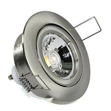 230V DIMMBAR LED Einbaustrahler Bajo GU10 5W=50W Innen & Aussen Spots