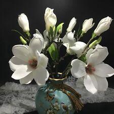 Simulation Silk Flowers Magnolia Flower Bud Wedding Living Room Home Decor