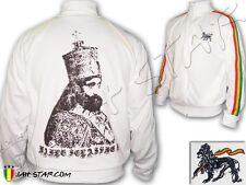 Veste Jacket Jacke Rasta Reggae Jah Star Wear Haile Selassie I King Ethiopie