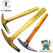 Bronze / Forged Steel Head Magnetic / Nylon Tip Upholstery Hammer CS Osborne 33