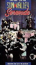 SUN VALLEY SERENADE VHS SONJA HENIE GLENN MILLER BAND 40'S MUSICAL MILTON BERLE
