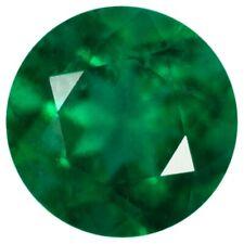 Natural Extra Fine Deep Green Emerald - Round - Brazil - AAA+ Grade