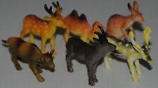 Plastic Deer Kangaroo Camel High colour details FREE POST UK SELLER