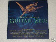 CD CARMINE APPICE'S GUITAR ZEUS BRIAN MAY,SLASH,MALMSTEEN,TED NUGENT&1995 NoBULL