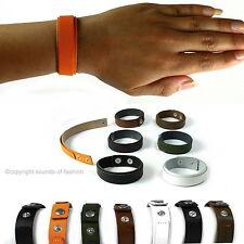Lederarmband Damen Leder Armband Made in Germany schwarz orange braun grün sm d