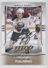 2014-15 Upper Deck MVP Gold Script #67 Marcus Foligno Buffalo Sabres Hockey Card