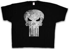 4XL & 5XL VIGILANTE SKULL SIGN T-SHIRT - The Punisher Logo T Shirt XXXXL XXXXXL