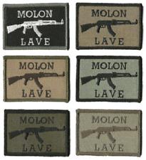 HLK Culpeper Tactical Morale Hook Patches AK-47 Molon lave