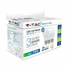 Conf. 3 Lampadine led 11W Bulb A60 V-TAC  attacco E27 VT-2113