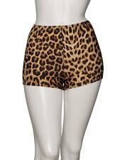 KHPP-5 Girls Ladies Leopard Or Tiger Animal Print Dance Hot Pants Shorts By Katz
