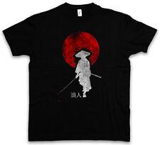 Ronin I T-SHIRT NINJA SAMURAI BUSHIDO spada Casco degli armamenti Giappone dakana Warrior