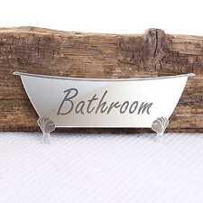Bath Wall Mirror for Bathroom Door & Sticky Pads