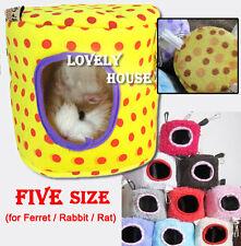Hammock for Ferret Rabbit Rat Hamster Bird Parrot Squirrel Hanging Bed Toy House
