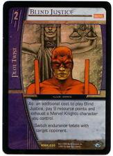 VS System • FOIL Blind Justice MMK-030 MArvel's Knight ENGLISH CARD
