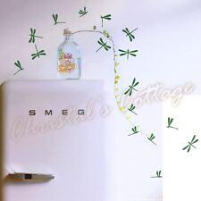 44 Dragonflys Décalque Mur Art Autocollant Enfants Chambre Décoration 2 Couleurs