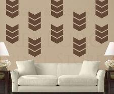 Chevron Pattern Geometric Wall Decal Vinyl Sticker Art Decor Decoration G66