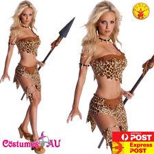 Womens Jane Secret Wish Costume Tarzan Jungle Safari Halloween Sexy Fancy Dress