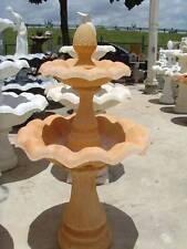 concrete cement  2 tier fountain $ 198