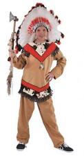 Indianer Anzug Kostüm Apache Sioux Indianerkostüm Junge Indianeranzug Feder
