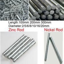 1pcs High Purity 99.98/% Nickel Ni Metal Rod Diameter 10mm Length 50mm 35g