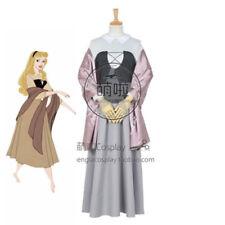 Aurora Briar Rose Costume Adult Sleeping Beauty Princess Cosplay Shawl Dress!sey