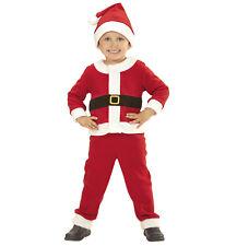 Vestito Da Babbo Natale Completo Costume Bambino PS 25811