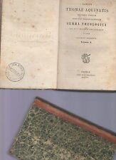 sancti thomae aquinatis- summa theologica - 1853 volumen V