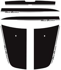 Dodge Charger High Output Hood Decal 2006-2010 3M Vinyl Graphics Stripe Hemi