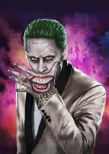 THE JOKER Suicide Squad Batman DC Wall Art Print Photo Poster A3 A4