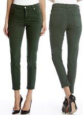Karen Kane 3L82104 Forest Green Zuma Crop Stretch Denim Skinny Jeans - $109