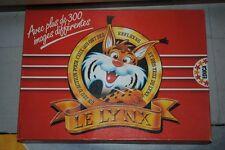 Jeu de société Le Lynx -  Jeu de réflexes et d'observation - TBE