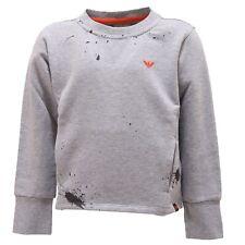 7391S felpa bimbo ARMANI JUNIOR grigio sweatshirt kid