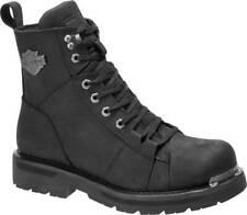Harley-Davidson Men's Sperling 6-Inch Black Leather Motorcycle Boots D96202