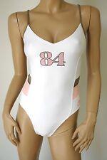 nike swim * schicker Damen Badeanzug Swimsuit * Modell EWD3821 * weiß * NEU