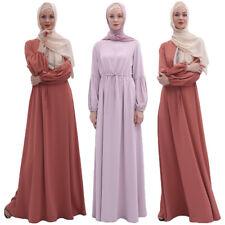 Ethnic Abaya Muslim Women Dress Spaghetti Jilbab Kaftan Islamic Arab Robes Gown
