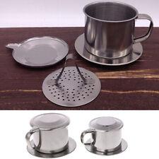 50/100ML Vietnamese Coffee Stainless Steel Simple Drip Filter Maker Infuser---