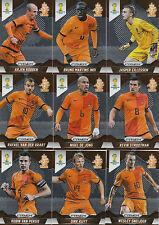 Panini PRIZM FIFA World Cup WM 2014 Base CardsTeam NEDERLAND to choose aussuchen